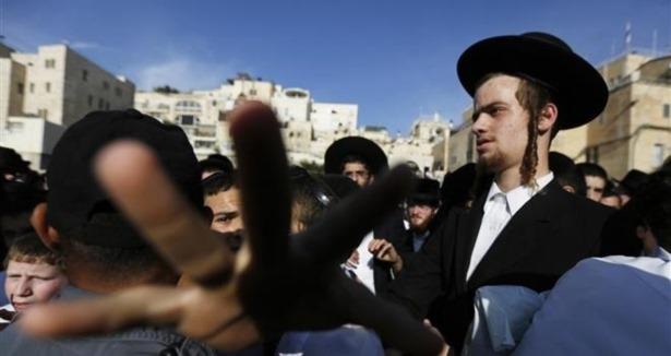 Ortodoks Yahudilerden Askerlik Protestosu
