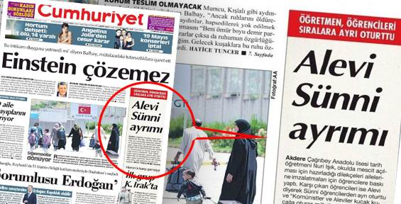 Cumhuriyet Gazetesinden Klasik İftira Haber