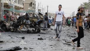 Irak'taki Bombalamalarda 60 Kişi Öldü