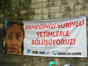 Suriye Halkı Yararına Kermesler Düzenleniyor