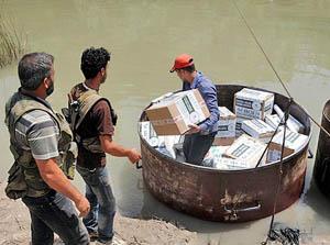 Asi Nehrinden Sınır Ötesine İlaç Yardımı
