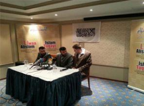 Liva İslam Komutanı Elloşun Basın Açıklaması