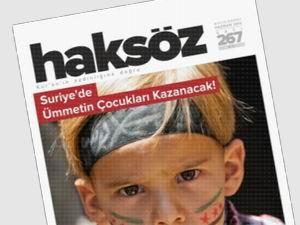 Haksöz Dergisinin Haziran Sayısı Çıktı!