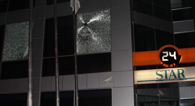 Ankarada Kanal 24 ve Star Binasına Saldırı