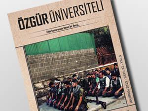 Özgür Üniversiteli Suriye Özel Sayısı Çıktı