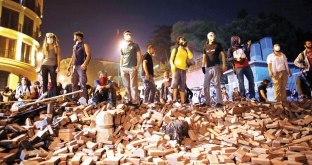 Beyaz Kuvvetler Gezi Parkında Devrede