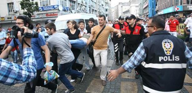 Rize'de TGB'nin Gezi Parkı Eylemine Tepki