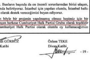 CHPden Gezi Parkı Yıkımına Tam Destek