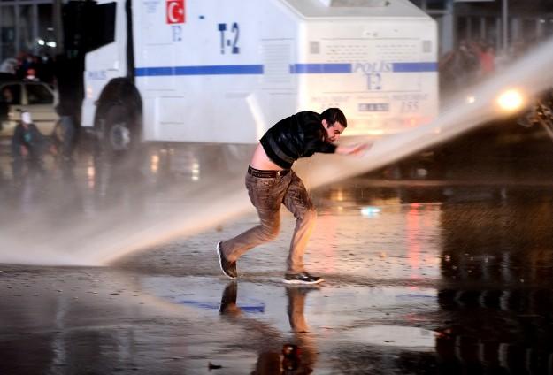 Ankarada Eylemcilere Müdahale