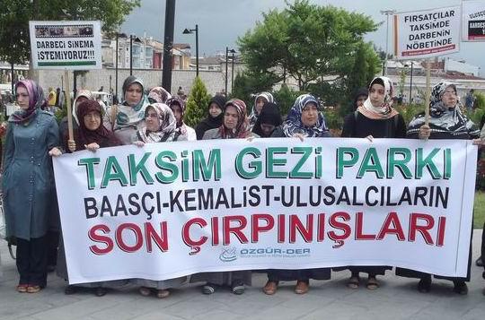 Gezi Parkı Kemalistlerin Son Çırpınışlarıdır