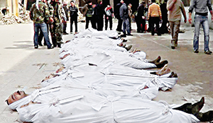 Hizbullah Destekli Esed, Halkı Katlediyor