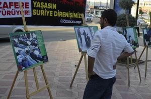Batmanda Fotoğraflarla Suriye Direnişi Sergisi