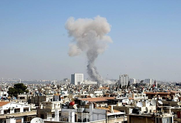 Şamda Patlama: 14 Ölü