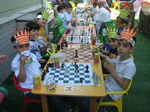 Özgür Çocuk Evi Satranç Turnuvasında