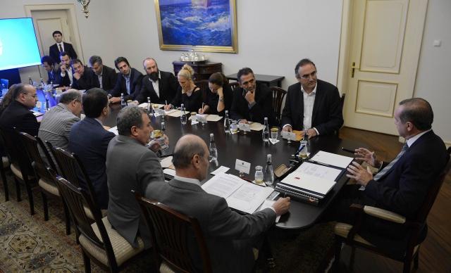 Gezi Heyeti Başbakanla Görüştü