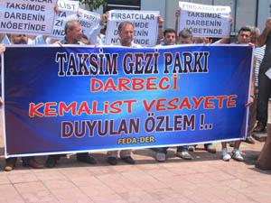 Kdz. Ereğlide Gezi Parkı Protestosu (VİDEO)