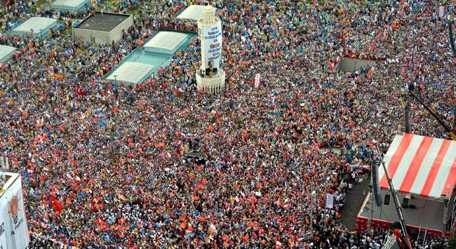 Yüz Binler Ankarada Buluştu (VİDEO)