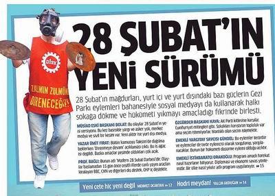 Gezi Parkı Eylemleri Bir Darbe Girişimidir!