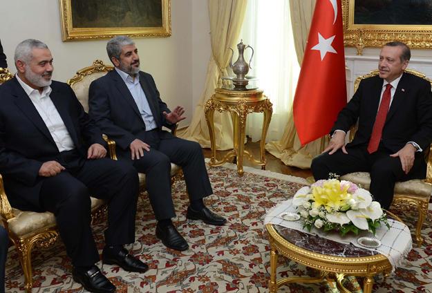 Erdoğan, Meşal ve Heniye İle Görüştü
