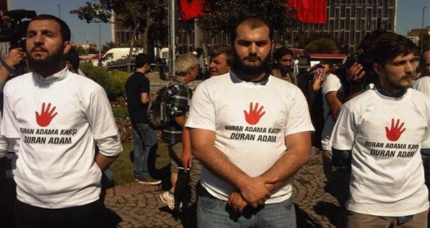Taksimde Duran Adama Karşı Eylem