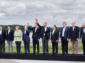 G8 Zirvesinden Esed'e Açık Destek