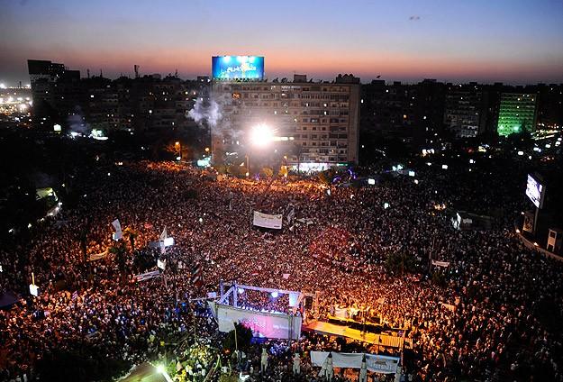 Mısırda Mursiye Milyonluk Destek Gösterisi