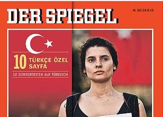 Der Spiegel Gezi Hatırına Türkçe Başlıkla Çıkacak