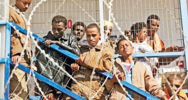 Necef Çölünde Afrikalı Cezaevi