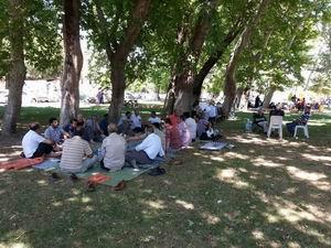 Akhisar Özgür-Der Üyeleri Piknikte Buluştu