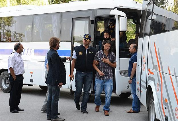 """Ankarada 13 Kişi """"Gezi""""den Tutuklandı"""