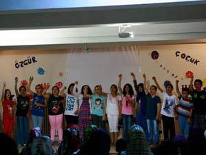 Özgür Çocuk Kulübü Yaz Kampı Sona Erdi