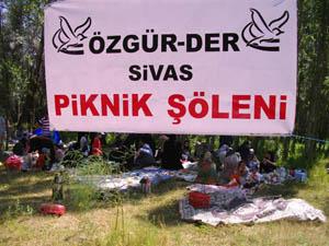 Sivas Özgür-Der Yıl Sonu Pikniği Düzenledi