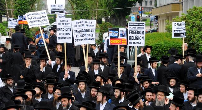 Avrupa'da İsrail Karşıtı Gösteri