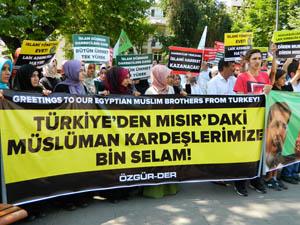 Türkiye'den Mısır'daki Müslüman Kardeşlere Bin Selam!