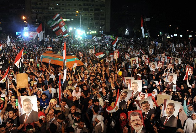 Muhammed Mursi ve İhvan'ın Yanındayız! (MARŞ)
