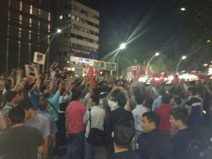 Ankara'da Müslüman Kardeşlere Destek Eylemi