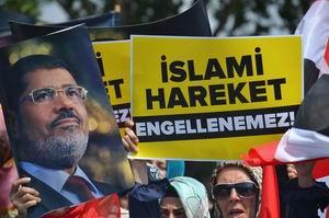 İstanbul'dan Mursi ve İhvan'a Binlerce Selam (FOTO)
