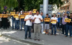 Sapanca'da Mursi'ye Destek Eylemi