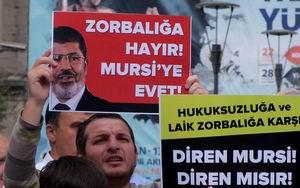 Trabzon'da Mısır Cuntası Protesto Edildi