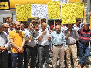 Ağrıda Mursiye Destek Eylemi Yapıldı