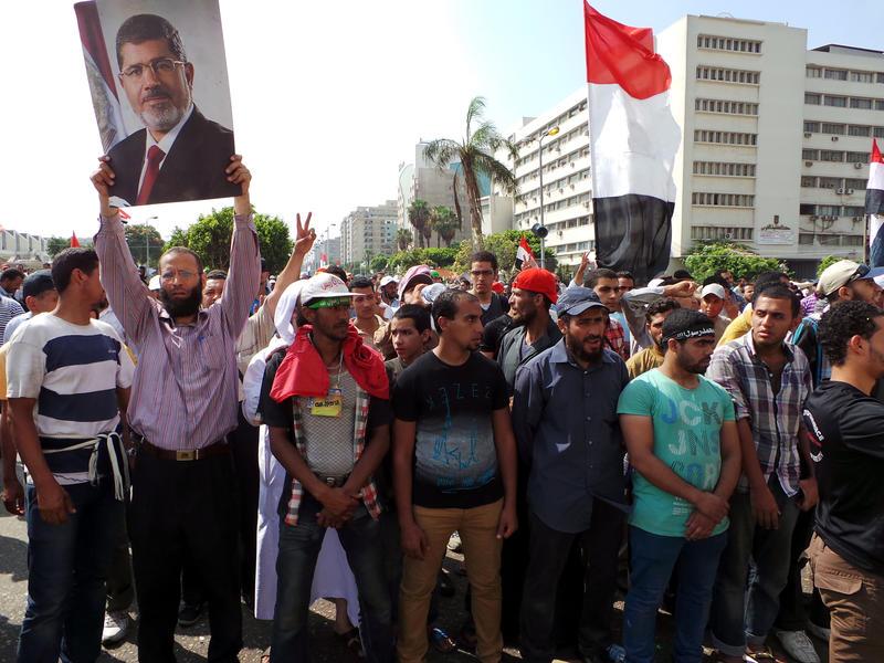 Mısırlı Müslümanlar Yürüyüşe Geçti