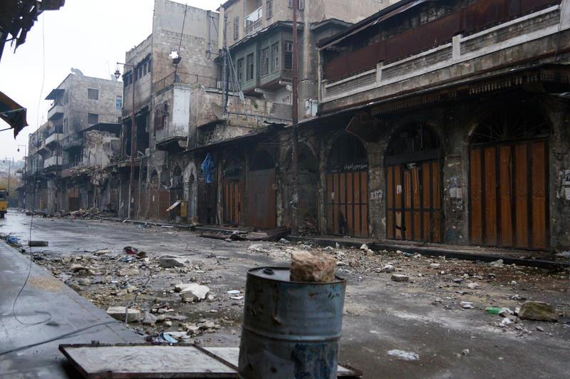 Suriyede Kimyasal Gaz İddiası