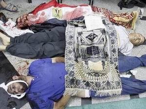 Mısır'da Ölü Sayısı 82 Oldu (VİDEO)