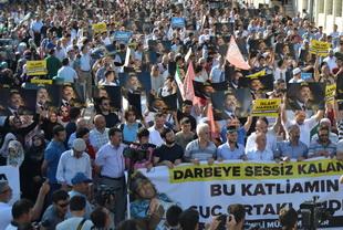 Sabah Namazı Katliamı Fatih'te Protesto Edildi! (FOTO)