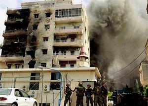 Beyrut'ta Hizbullah Bölgesinde Patlama