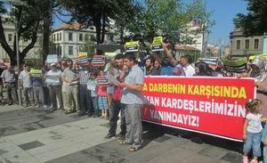 Trabzon'da Sabah Namazı Katliamı Lanet Edildi