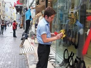 Taksim Esnafı Şiddet Eylemlerine Yeter Dedi