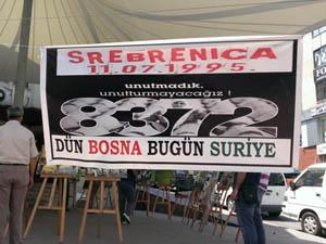 Ereğlide Srebrenitsa İçin Resim Sergisi