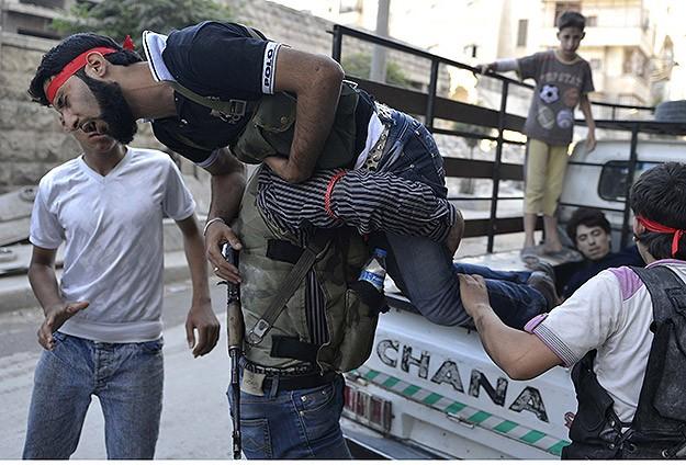 Suriyede Bugün 42 Kişi Katledildi