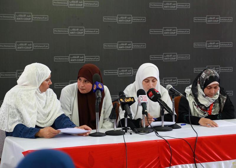 Mısırlı Kadınlar Darbeye Karşı Örgütlendi